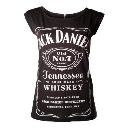 Jack Daniel's Womens Shirt With Back Zipper